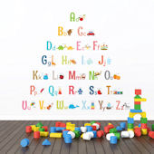 Decowall Alphabet Photo Wall Decals