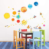 Decowall Planets and Space Wall Decals
