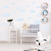 Decowall Clouds Wall Decals