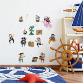 Decowall Pirates and Treasure Wall Decals