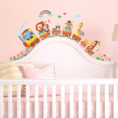Decowall Animal Train Wall Decals