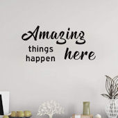 DCTOP Amazing Things Peel and Stick Wall Decals