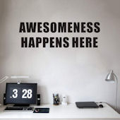 DCTOP Awesomeness Peel and Stick Wall Decals