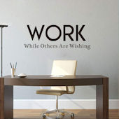 DCTOP Work Peel and Stick Wall Decals