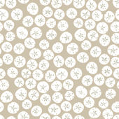 Beige Sand Dollars Wallpaper