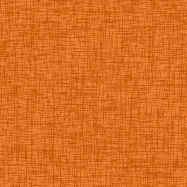 Orange Linen Wallpaper