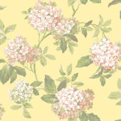 Yellow Hydrangea Wallpaper