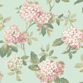Light Blue Hydrangea Wallpaper