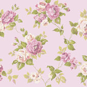 Light Purple Garden Rose Trail Wallpaper