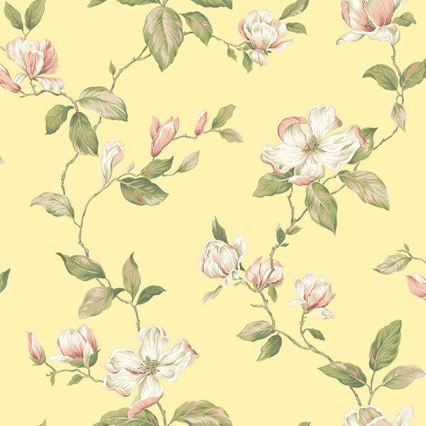 yellow magnolia wallpaper - photo #9