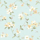 Light Blue Dogwood Wallpaper