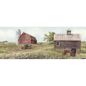 Tractor and Barn Border