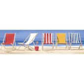 Beach Chairs Border