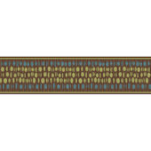 Brown Modern Dotted Twig Border