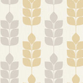 Candice Olson Light Gray Modern Petals Wallpaper
