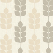 Candice Olson Dark Gray Modern Petals Wallpaper
