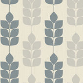 Candice Olson Light Blue Modern Petals Wallpaper