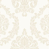 Candice Olson White Aristocrat Wallpaper