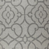 Grey Grillwork Mica Wallpaper