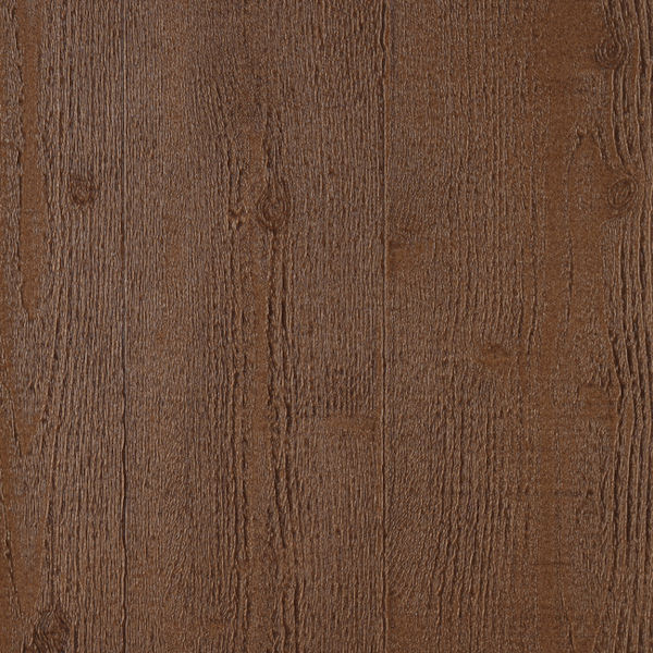 Dark Brown Embossed Wood Wallpaper