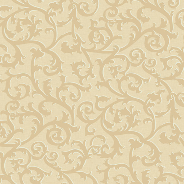 Gold and gold scroll with texture wallpaper for Wallpaper for walls