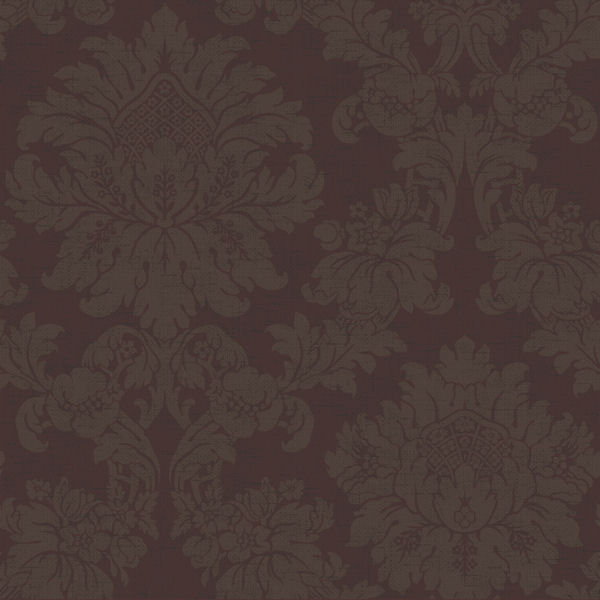 brown on brown damask wallpaper - photo #40