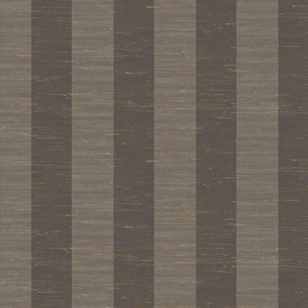 Dark Grey And Grey 3 Inch Stripe Wallpaper
