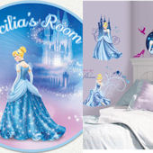 Glamour Cinderella Custom #1 Decal Room Package