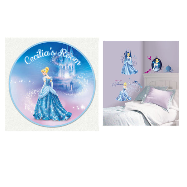 Glamour Cinderella Custom #1 Decal Room Package - Wall Sticker Outlet