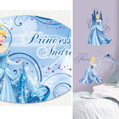 Glamour Cinderella Custom #2 Decal Room Package