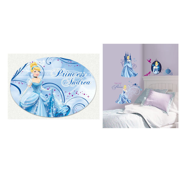 Glamour Cinderella Custom #2 Decal Room Package - Wall Sticker Outlet