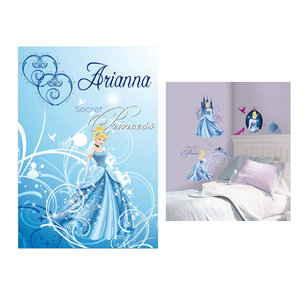 Glamour Cinderella Custom #3 Decal Room Package - Wall Sticker Outlet