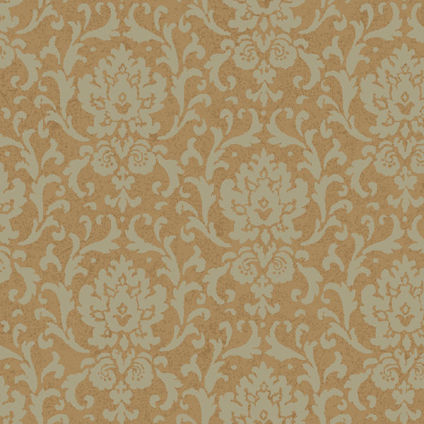 metallic gold vintage damask wallpaper