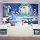 Disney Cinderella Carriage XL Wall Mural
