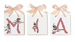 Lil Ballerina  Name Tiles - Kids Wall Decor Store