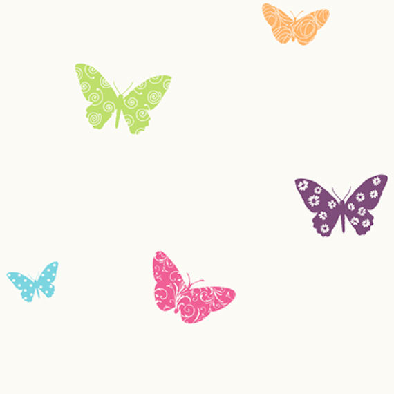 Pink and purple butterfly wallpaper for Butterfly wallpaper for walls