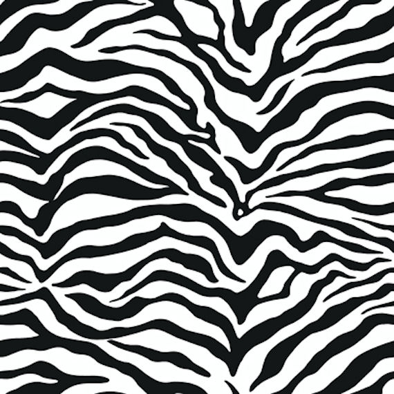 zebra wallpaper. Black Zebra Skin Wall Paper