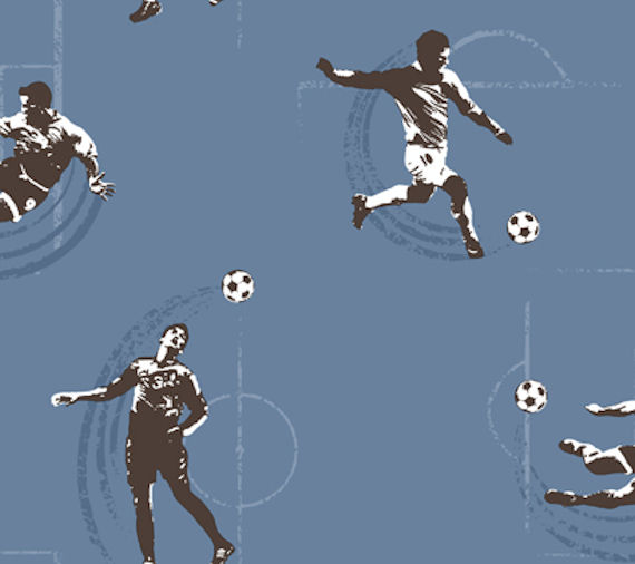soccer wallpaper. Blue Soccer Wall Paper