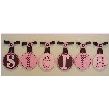 Sierra Circle Wooden Wall Letters