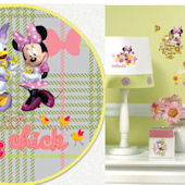 Minnie Mouse Barnyard Custom Decal Room Package