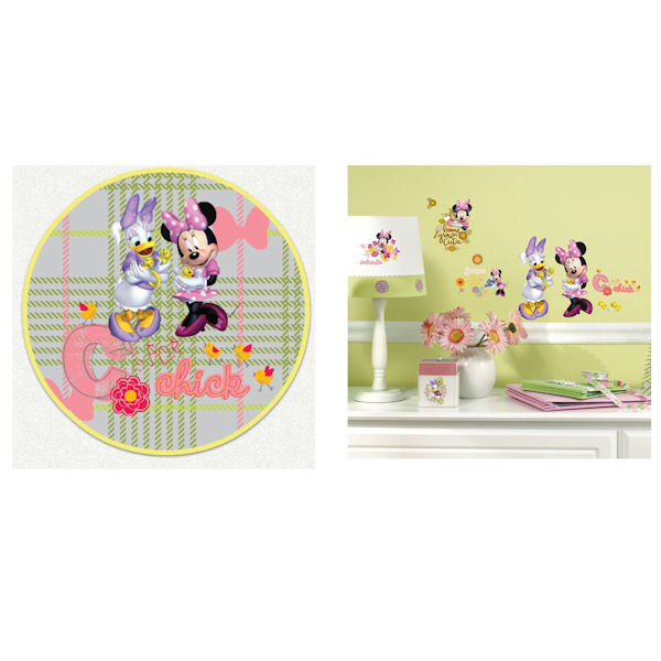 Minnie Mouse Barnyard Custom Decal Room Package - Wall Sticker Outlet