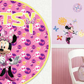 Minnie Mouse Bow-tique Custom Decal Room Package