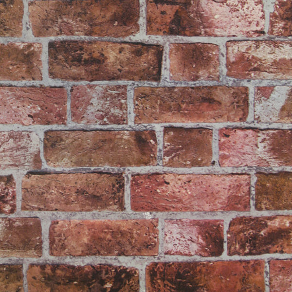 Red brick wallpaper for Distressed brick wall mural