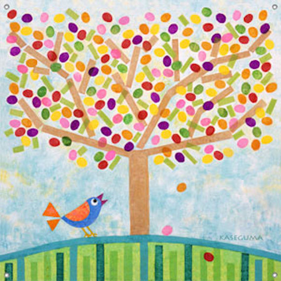 Jellybean Tree Wall Mural - Wall Sticker Outlet