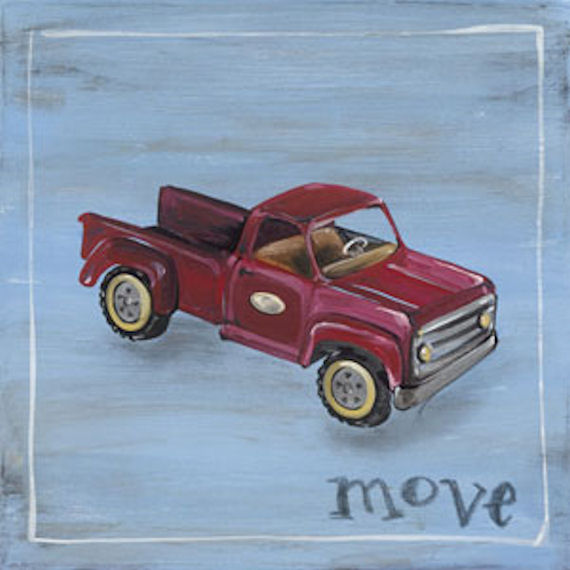 Move Canvas Wall Art - Wall Sticker Outlet