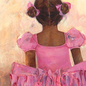 Perfect Ballerina African American Wall Art