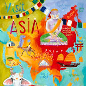 Visit Asia Canvas Wall Art