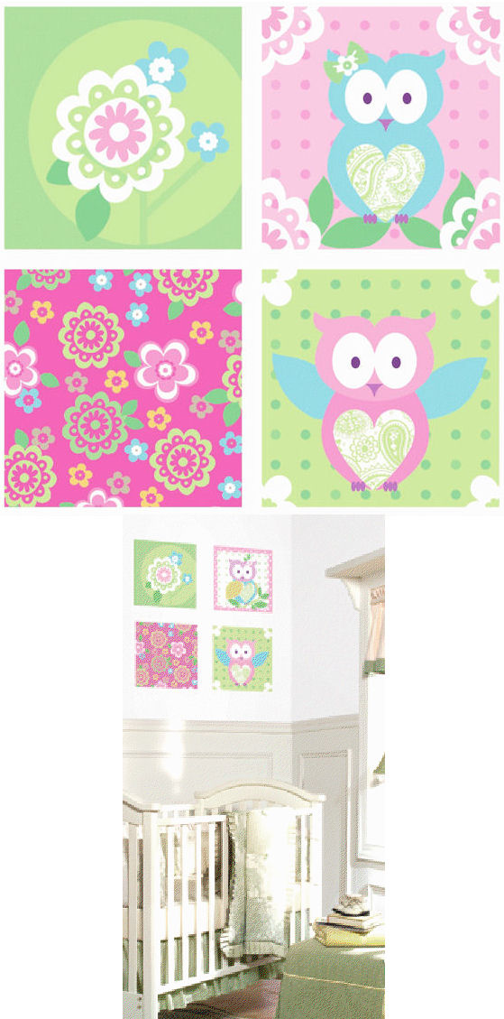 Hootie Kidifexs Wall Stickers - Wall Sticker Outlet