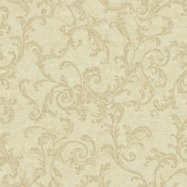 Cream and beige textured scroll wallpaper for Cream wallpaper for walls