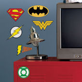 DC Comic Superhero Logo Giant Wall Decals